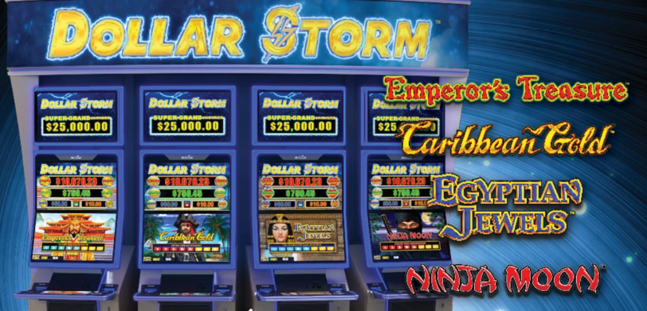Dollar Storm: Emperor's Treasure, Caribbean Gold, Egyptian Jewels, Ninja Moon Games