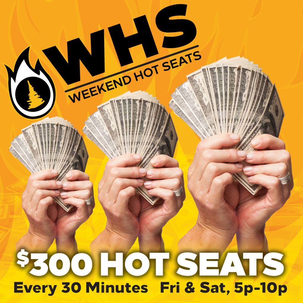 Weekend Hot Seats