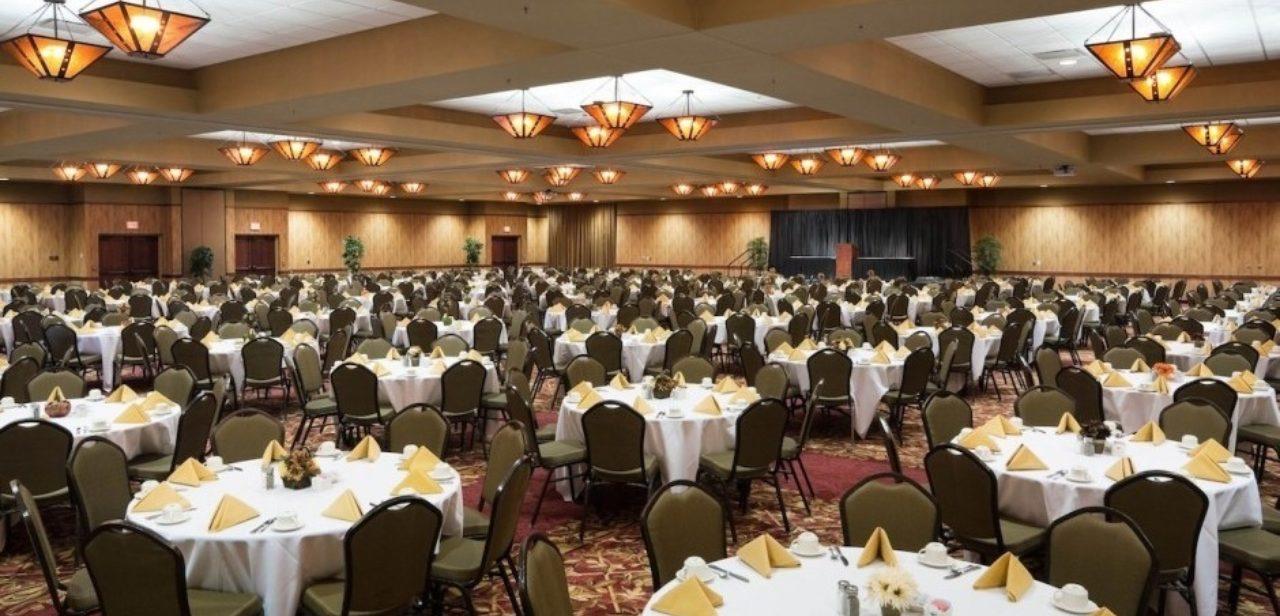 Pine Cred ballroom