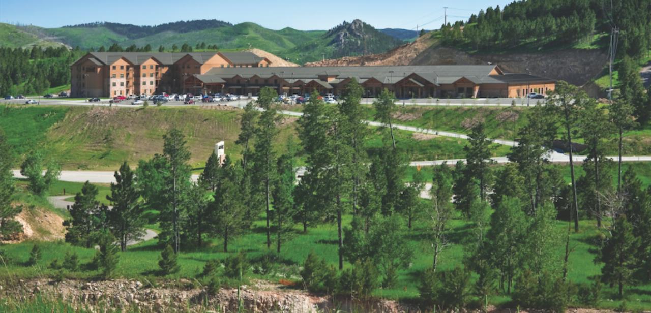 Deadwood Lodge scenic view
