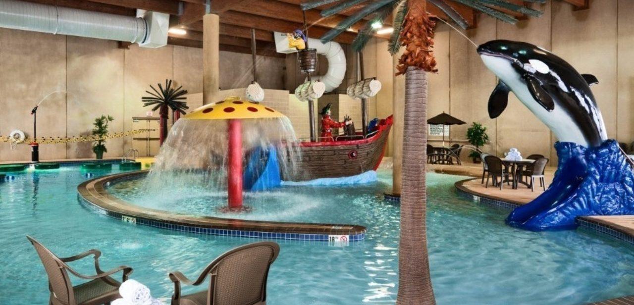 Deadwood lodge indoor water play land