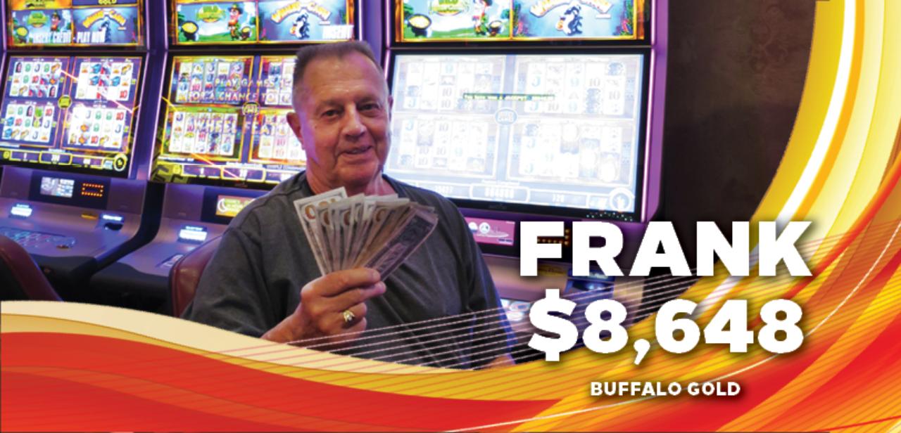 Frank, $8,648 Winner