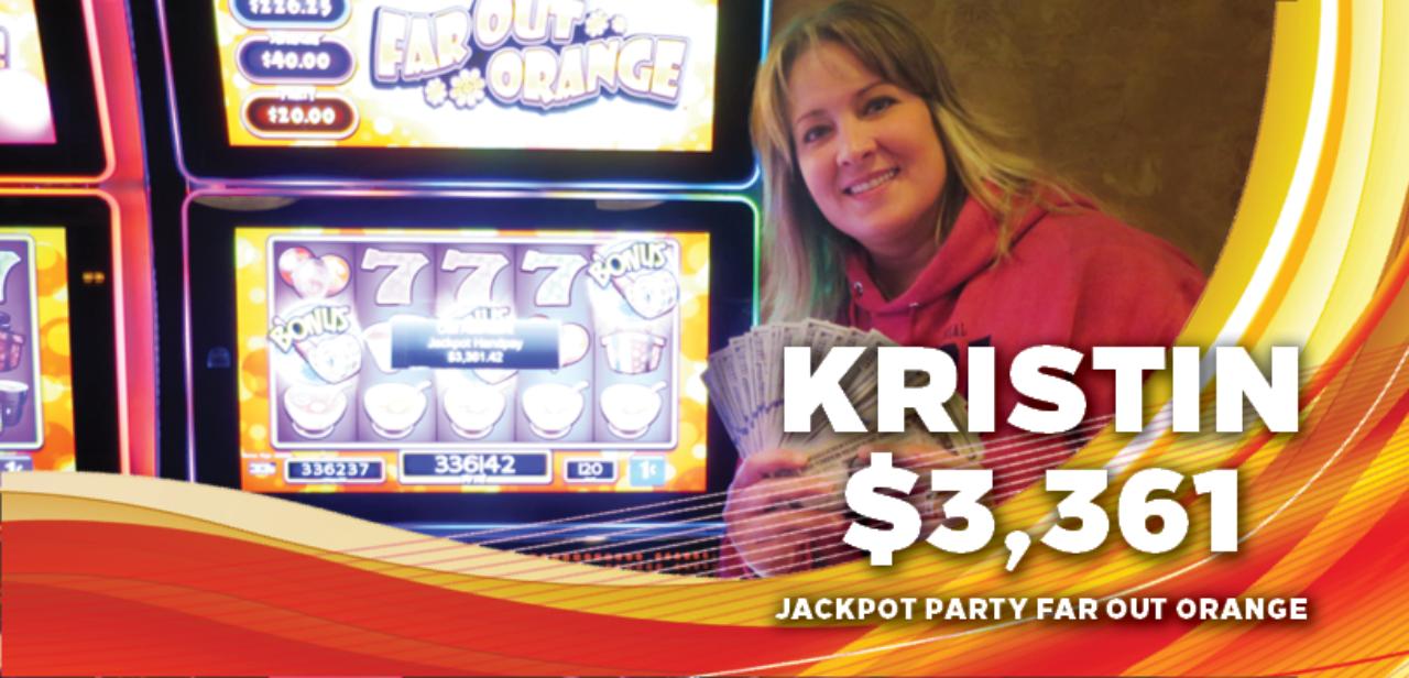 Kristin, $3,361 winner