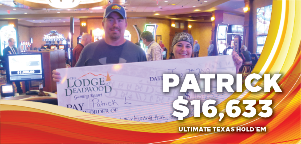 Patrick, $16,633 winner