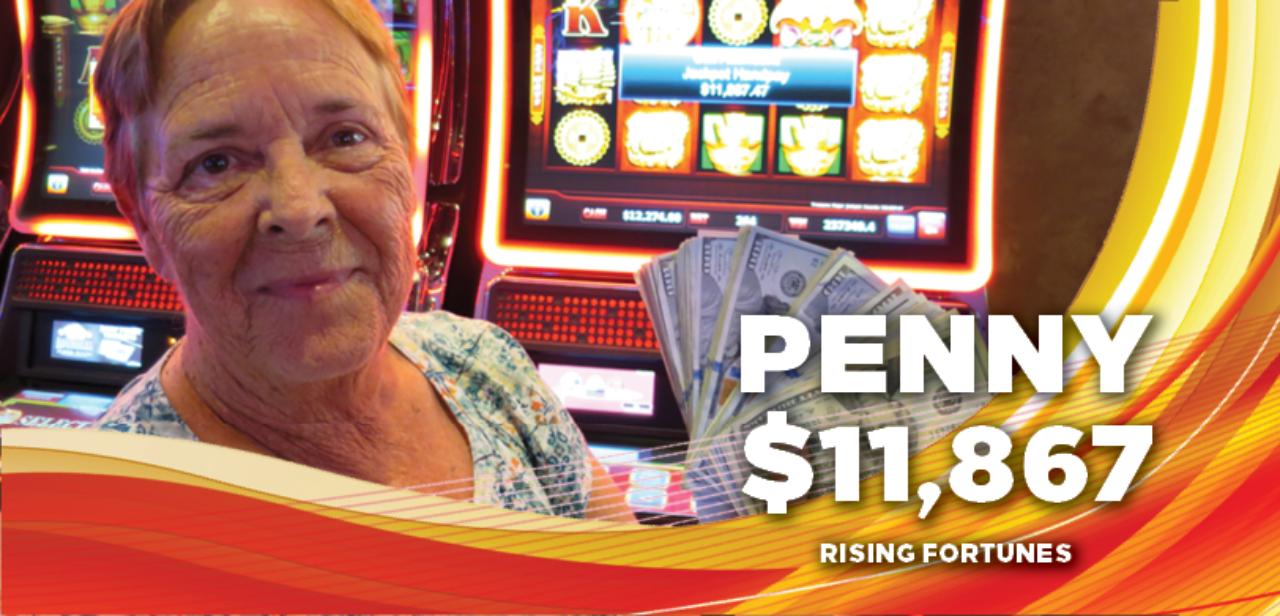 Penny, $11,867 winner