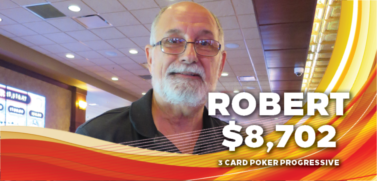 Robert, $8,702 winner