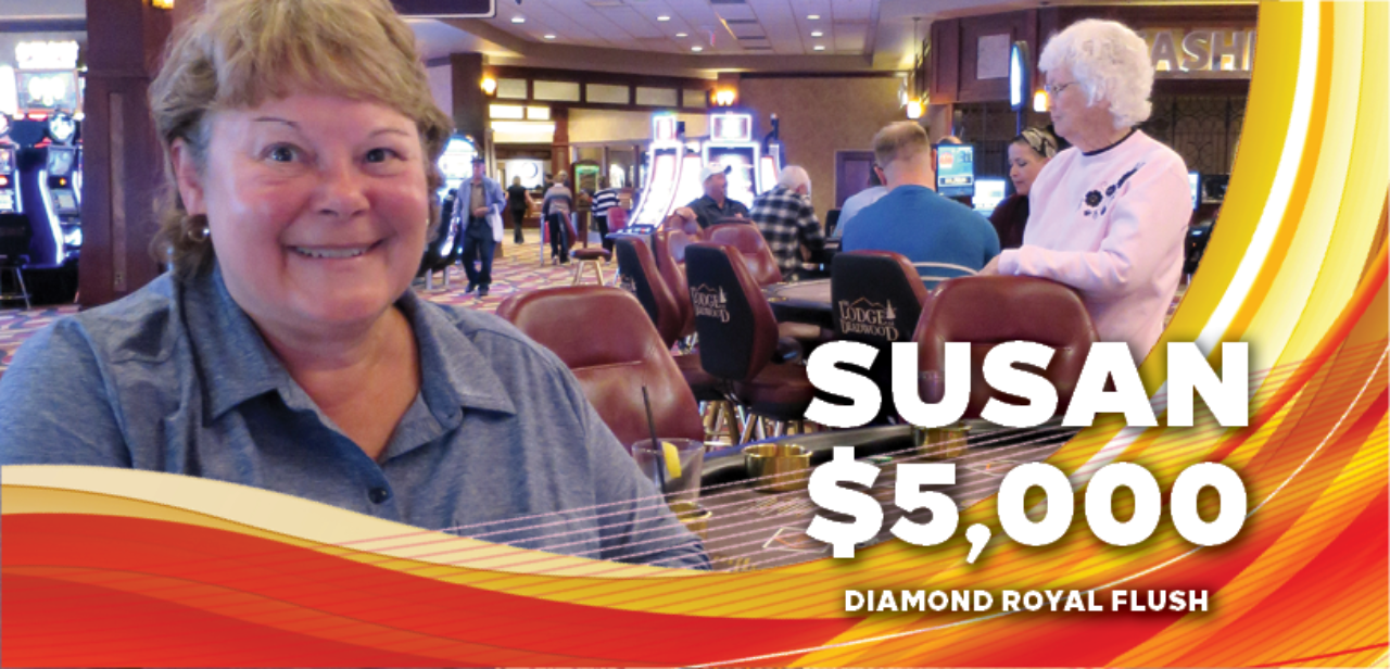 Susan, $5,000 winner