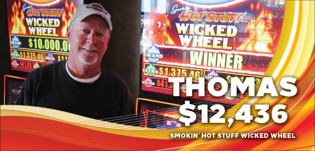 Thomas, $12,436 winner