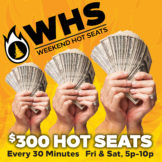 Weekend Hot Seats