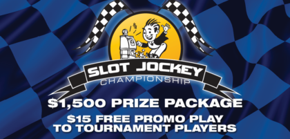 $1,500 prize package for slot jockey championship